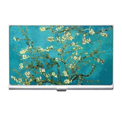 Vincent Van Gogh Blossoming Almond Tree Business Card Holder