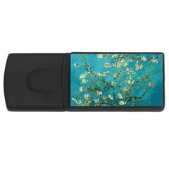 Vincent Van Gogh Blossoming Almond Tree 1GB USB Flash Drive (Rectangle)
