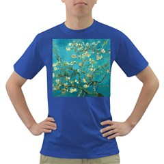 Vincent Van Gogh Blossoming Almond Tree Mens' T-shirt (Colored)