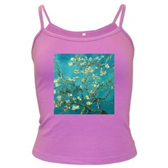 Vincent Van Gogh Blossoming Almond Tree Spaghetti Top (Colored)