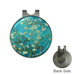 Vincent Van Gogh Blossoming Almond Tree Hat Clip with Golf Ball Marker
