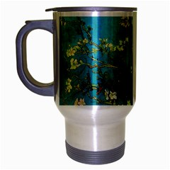 Vincent Van Gogh Blossoming Almond Tree Travel Mug (silver Gray)