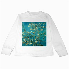 Vincent Van Gogh Blossoming Almond Tree Kids Long Sleeve T-Shirt