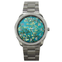 Vincent Van Gogh Blossoming Almond Tree Sport Metal Watch