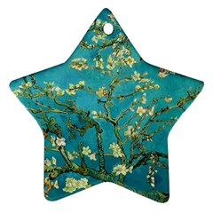 Vincent Van Gogh Blossoming Almond Tree Star Ornament (two Sides)