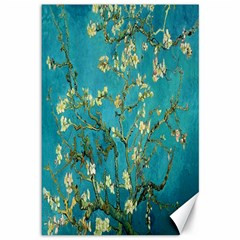 Vincent Van Gogh Blossoming Almond Tree Canvas 12  x 18  (Unframed)