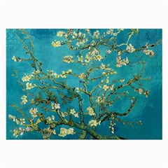 Vincent Van Gogh Blossoming Almond Tree Glasses Cloth (Large)