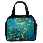 Vincent Van Gogh Blossoming Almond Tree Classic Handbag (Two Sides) Front