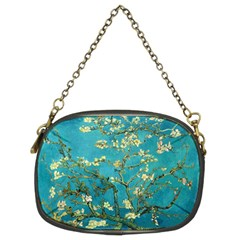 Vincent Van Gogh Blossoming Almond Tree Chain Purse (Two Sided)