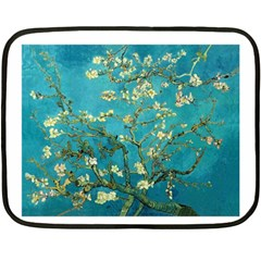 Vincent Van Gogh Blossoming Almond Tree Mini Fleece Blanket (Two Sided)