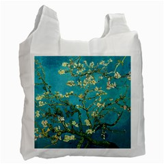 Vincent Van Gogh Blossoming Almond Tree Recycle Bag (One Side)