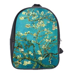 Vincent Van Gogh Blossoming Almond Tree School Bag (Large)
