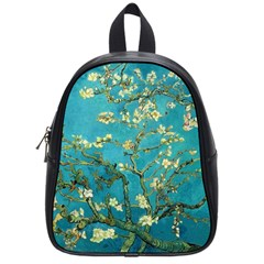 Vincent Van Gogh Blossoming Almond Tree School Bag (Small)