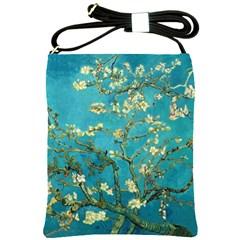 Vincent Van Gogh Blossoming Almond Tree Shoulder Sling Bag