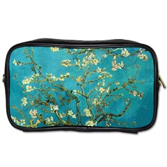 Vincent Van Gogh Blossoming Almond Tree Travel Toiletry Bag (Two Sides)