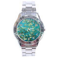 Vincent Van Gogh Blossoming Almond Tree Stainless Steel Watch