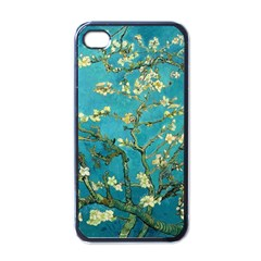 Vincent Van Gogh Blossoming Almond Tree Apple Iphone 4 Case (black)