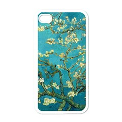 Vincent Van Gogh Blossoming Almond Tree Apple Iphone 4 Case (white)