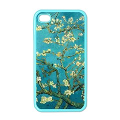 Vincent Van Gogh Blossoming Almond Tree Apple iPhone 4 Case (Color)