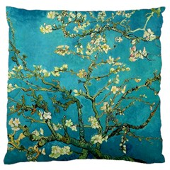 Vincent Van Gogh Blossoming Almond Tree Large Cushion Case (Two Sided)