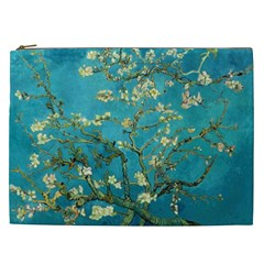 Vincent Van Gogh Blossoming Almond Tree Cosmetic Bag (xxl)
