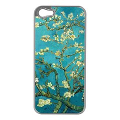Vincent Van Gogh Blossoming Almond Tree Apple iPhone 5 Case (Silver)