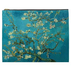 Vincent Van Gogh Blossoming Almond Tree Cosmetic Bag (XXXL)