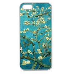 Vincent Van Gogh Blossoming Almond Tree Apple Seamless Iphone 5 Case (clear)