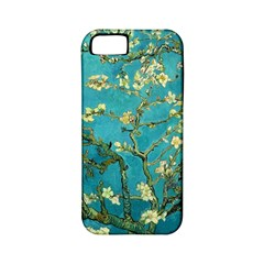 Vincent Van Gogh Blossoming Almond Tree Apple iPhone 5 Classic Hardshell Case (PC+Silicone)