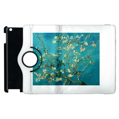Vincent Van Gogh Blossoming Almond Tree Apple iPad 2 Flip 360 Case