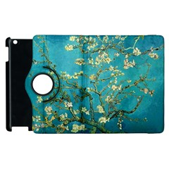Vincent Van Gogh Blossoming Almond Tree Apple iPad 3/4 Flip 360 Case