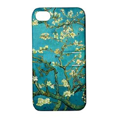 Vincent Van Gogh Blossoming Almond Tree Apple iPhone 4/4S Hardshell Case with Stand