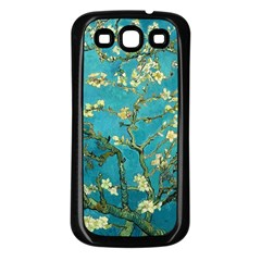 Vincent Van Gogh Blossoming Almond Tree Samsung Galaxy S3 Back Case (Black)