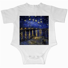 Vincent Van Gogh Starry Night Over The Rhone Infant Bodysuit