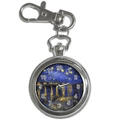 Vincent Van Gogh Starry Night Over The Rhone Key Chain & Watch