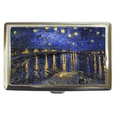 Vincent Van Gogh Starry Night Over The Rhone Cigarette Money Case
