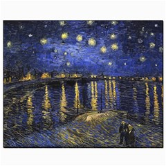Vincent Van Gogh Starry Night Over The Rhone Canvas 8  x 10  (Unframed)