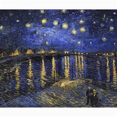 Vincent Van Gogh Starry Night Over The Rhone Canvas 20  x 24  (Unframed)