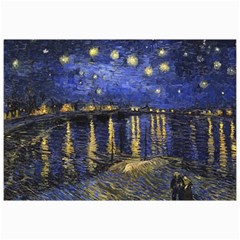 Vincent Van Gogh Starry Night Over The Rhone Canvas 20  x 30  (Unframed)