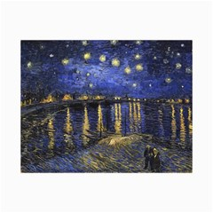 Vincent Van Gogh Starry Night Over The Rhone Canvas 24  X 36  (unframed)