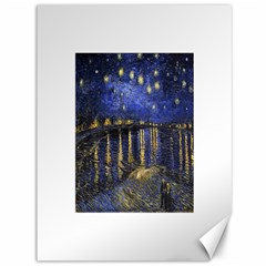 Vincent Van Gogh Starry Night Over The Rhone Canvas 36  x 48  (Unframed)