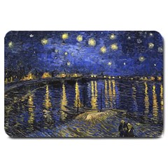 Vincent Van Gogh Starry Night Over The Rhone Large Door Mat