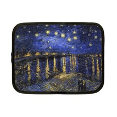 Vincent Van Gogh Starry Night Over The Rhone Netbook Sleeve (Small)