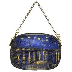 Vincent Van Gogh Starry Night Over The Rhone Chain Purse (Two Sided)