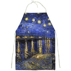 Vincent Van Gogh Starry Night Over The Rhone Apron