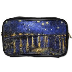 Vincent Van Gogh Starry Night Over The Rhone Travel Toiletry Bag (one Side)