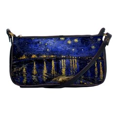 Vincent Van Gogh Starry Night Over The Rhone Evening Bag