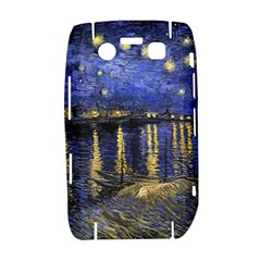 Vincent Van Gogh Starry Night Over The Rhone BlackBerry Bold 9700 Hardshell Case