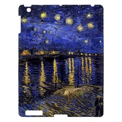 Vincent Van Gogh Starry Night Over The Rhone Apple iPad 3/4 Hardshell Case