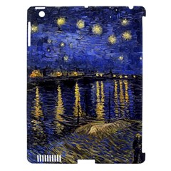 Vincent Van Gogh Starry Night Over The Rhone Apple Ipad 3/4 Hardshell Case (compatible With Smart Cover)